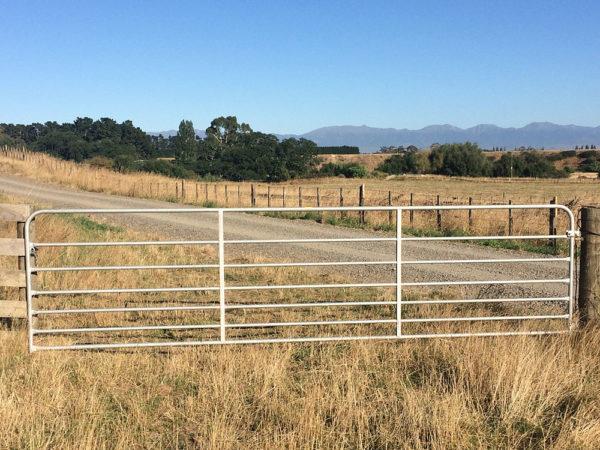 Heavy Barred Gate