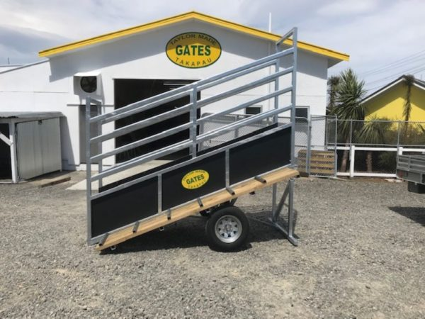 Portable Cattle Load Ramp